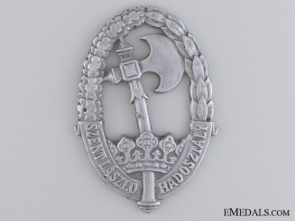 "A Second War Hungarian ""¢�Szent L¡‡szl¡_""¢� Badge"