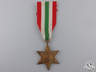A Second War Italy Campaign Star