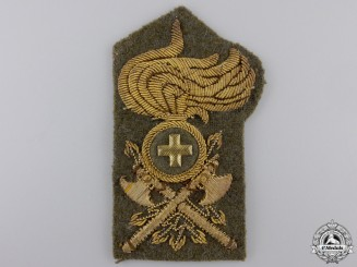 A Second War Italian Engineer Officer's Insignia