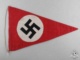 A Second War NSDAP Parade Pennant