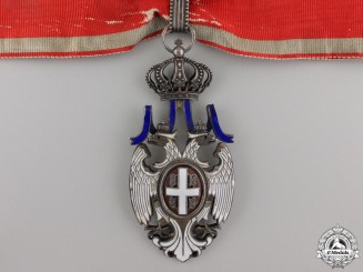 A Serbian Order of the White Eagle; Third Class Commander