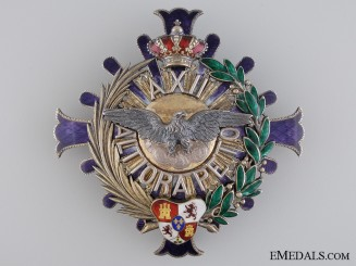 A Spanish 1902-1931 Civil Order of Alfonso XII; Grand Cross