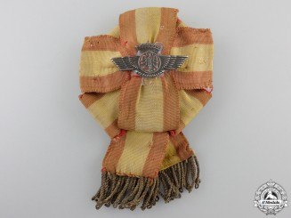 A Spanish Air Force Instructor Badge; c. 1940
