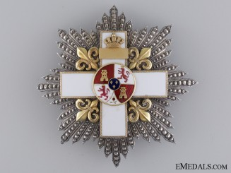 A Spanish Order of Military Merit by Lemaitre of Paris