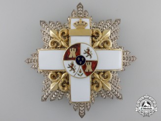 A Spanish Order of Military Merit by Boullanger