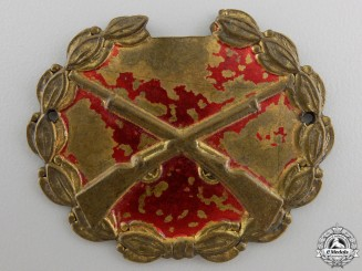 A Spanish Republican Sharp Shooter Badge 1935