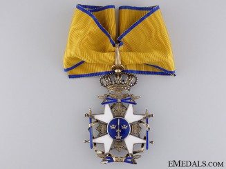A Swedish Order of the Sword; Commander's Cross