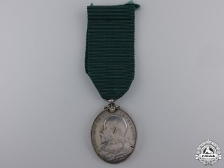 A Territorial Force Efficiency Medal to the Field Artillery