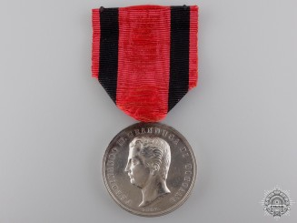 A Tuscan Silver Merit Medal; Fourth Class