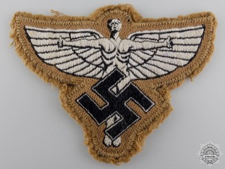 A Uniform Removed NSFK Breast/Sleeve Cloth Insignia