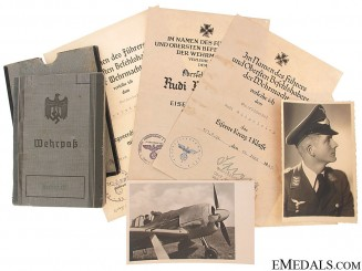 A Well Documented Group to a Luftwaffe Pilot