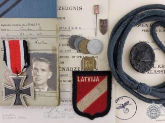 A well Documented Grouping to the 3rd Latvian Waffen-SS Regiment