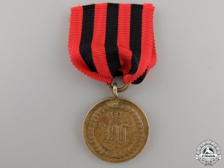 A Wuerttemberg Medal for the Battles of 1793 - 1815 for Three Campaigns