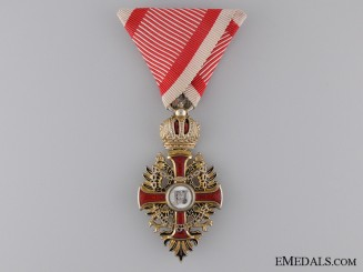 A WWI Austrian Order of Franz Joseph; Knight's Breast Badge