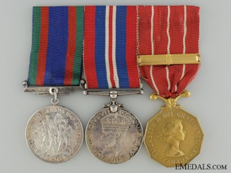 A WWII & Canadian Forces Group to Sergeant J.B. Brignall