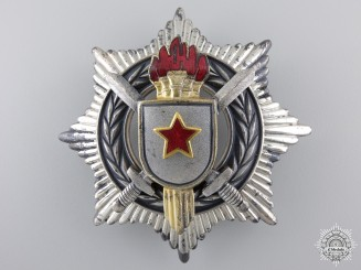 A Yugoslavian Order of Military Merit; 3rd Class with Swords