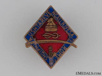 Albanian Campaign Veteran's Badge