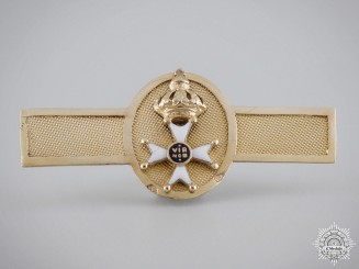 An 1820's Miniature Order of the Netherlands Lion in Gold