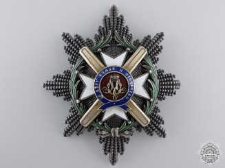 An 1868-1882 Serbian Order of Takovo; 2nd Class Breast Star by C.F. Rothe