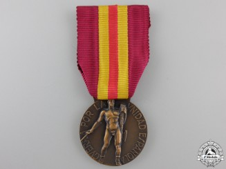 An 1936 Italian Spanish Campaign Medal for Volunteers