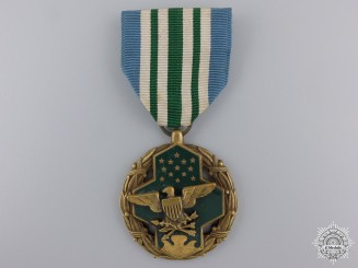 An American Joint Service Commendation Medal; Named