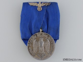 An Army Four Years Long Service Medal