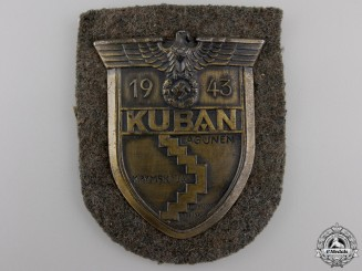 An Army Issue Kuban Campaign Shield