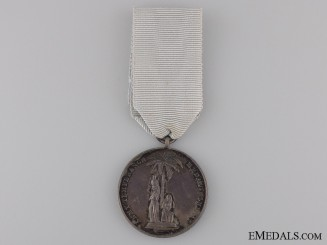 An Army Temperance Association in India One Year Medal