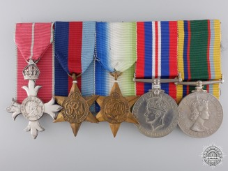 An Cadet Forces MBE Group to Lieutenant Commander R.W. Luff