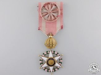 An Early Brazilian Order of the Rose in Gold c.1860