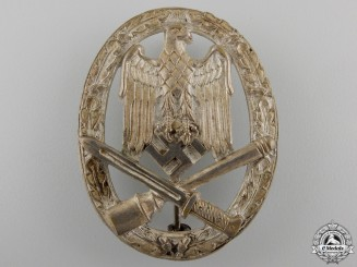 An Early General Assault Badge