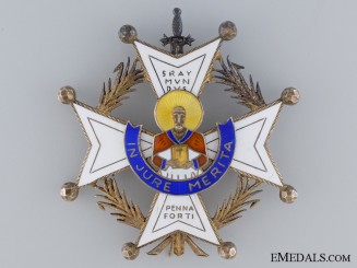 An Early Spanish Order of Saint Raymond of Penafort; Breast Star