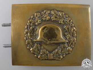 An Early Stahlhelm Belt Buckle