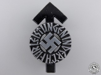 An HJ Proficiency Badge; Black Grade