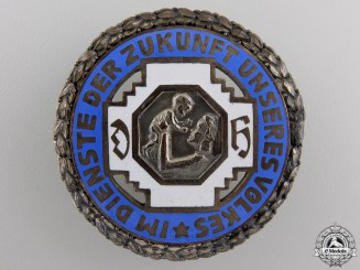 An Honour Badge of the German State Midwife Association Badge