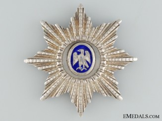 An Icelandic Order of the Falcon; Grand Officer's Star