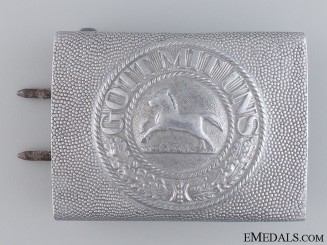 An Imperial Brunswick Police Belt Buckle