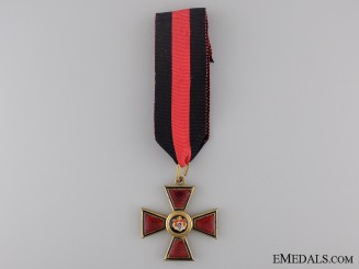 An Imperial Russian Order of St. Vladimir; Civil Division, Fourth Class