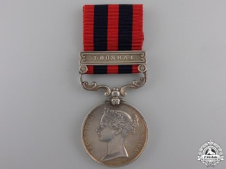 An India General Service Medal 1854-1895 for Looshai