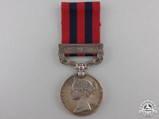 An India General Service Medal 1854 to the Rifle Brigade