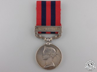 An India General Service Medal to the 2nd Goorkha Rifles