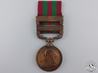 An India Medal 1895-1902 to the C.J. Department