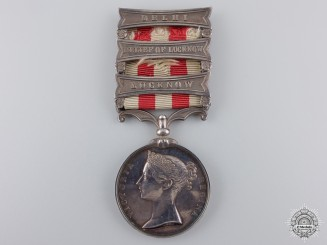 An Indian Mutiny Medal to the 17th Lancers