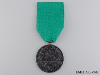An Iranian Medal for Bravery; 2nd Class 1901 (1317)