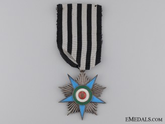 An Iranian Order of Glory; Silver Grade Star
