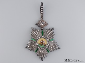 An Iranian Order of Lion and Sun by Chobillion of Pair