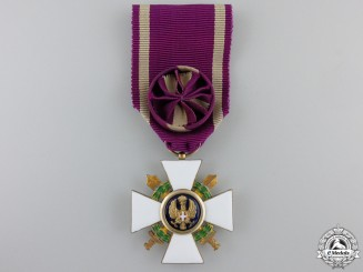 An Italian Order of the Roman Eagle with Swords 1942-1943