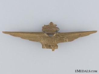 An Italian WWII Pilot Badge for North African Tank Busters