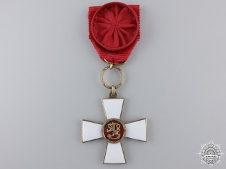 An Order of the Lion of Finland; Officer's Cross