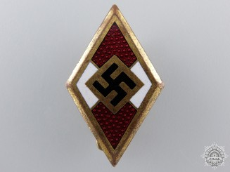An RZM Marked Golden HJ Badge